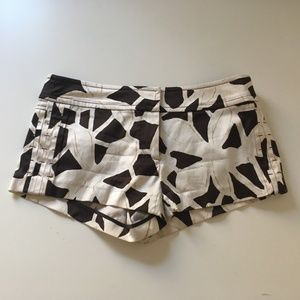 Diane Von Furstenberg Lebrock Floral Shorts